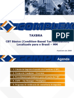 TAXBRA Condition Based Taxation CBT MM