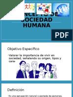 concepto de sociedad humana