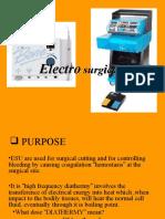 5. Electro Surgical Unit12