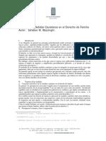 Medidas Cautelares en El Derecho de Familia