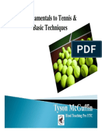 IMP Fundamentals to Tennis & Basics Techniques (McGUFFIN)