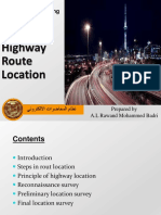 Lectures of Highway Engineering