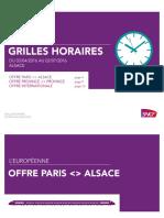 Grilles Horaires SNCF printemps 2016 Alsace