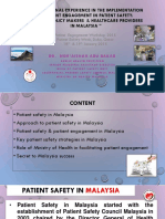 Patient Safety in Malaysia