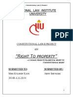 Right to Property
