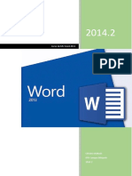 Curso de MS Word 2013