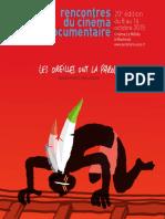 Catalogue 2015 Rencontres du Cinéma Documentaire