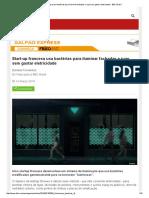 Start-up Francesa Usa Bactérias Para Iluminar Fachadas e Ruas Sem Gastar Eletricidade - BBC Brasil