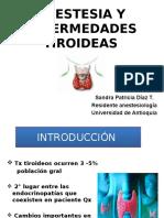 Anestesia y Tiroides