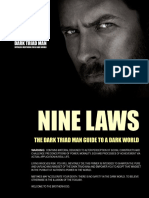 The Nine Laws of the Dark Triad Man Official Release 20151231
