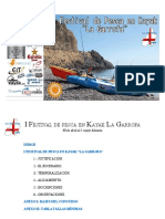 "I Festival de Pesca en Kayak ""La Garrofa"""