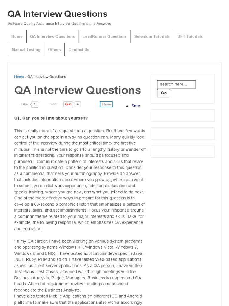 qa interview questions qa interview questions areas of qa interview questions qa interview questions areas of computer science