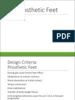 Prosthetic Feet 16 1slide
