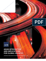 Asian Integration and Implications for Global Growth