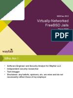 BSDCan Presentation - FreeBSD Vnet Jails Draft 02