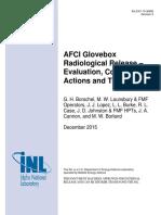 INL AFCI Glovebox Report