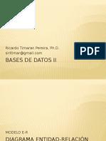 Bases de Datos II Con E_R