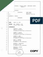 Brendan Dassey transcript