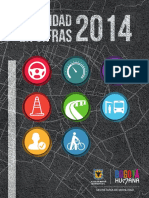 Digital Cartilla Movilidad en Cifras 2014