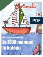 La Rotonde Édition Du 29 Mars 2016