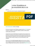 Corralito y Otras 18 Palabras en Español Que Escucharás Decir a Un Guiri _ Verne EL PAÍS
