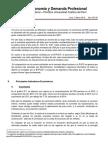Boletín Economía y Demanda Profesional