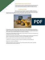 Maquinas Utilizadas Para Realizar Procesos de Excavación