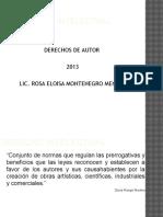 Derechos de Autor 2013