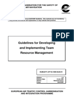 Safety Guidelines for Developing and Implementing Team Resource Management 1996