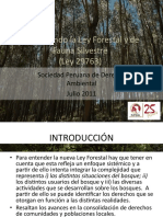 PPT_Nueva Ley Forestal