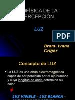 Biofísica de La Percepción Luz (2014)