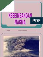 Keseimbangan Magma