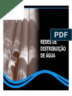 P_s-unilins Aula 20-03-10 Projetos de Redes de Distribui__o de _gua