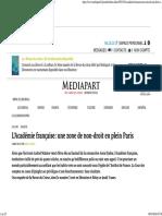 l Academie Francaise Zone de Non Droit en Plein Paris