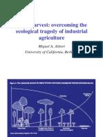 Agroecologia e sustentabilidade