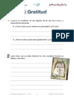 Ficha Emocionario 42 Gratitud UNIDAD 12