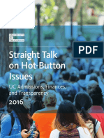 Straight Talk on Hot-Button Issues