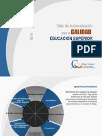 Taller Para Institutos (Procalidad)