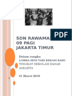 Tari Betawi by SDN Rawamangun 09 Pagi