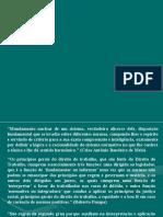 Principios de Direito Processual Do Trabalho - Aula Fabricio
