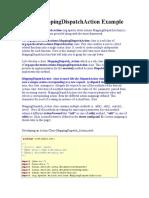 Struts MappingDispatchAction Example