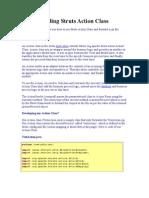 Understanding Struts Action Class