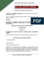 Codigo Fiscal Del Df 2015