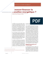 Comment financer la transition énergétique - Revue Variance, ENSAE alumni