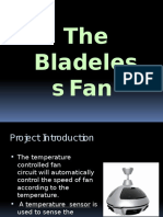 The Bladeless Fan
