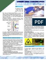 Exposición Laboral a Radiaciones Ópticas