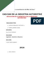 ROBOTICA EN INDUSTRIA AUTOMOTRIZ