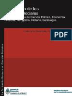 Ciclo Ciencias Sociales 2015 1