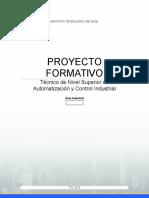 Proyecto Formativo Técnico de Nivel Superior en Automatización y Control Industrial - 17-04-2014 - Tomás Díaz