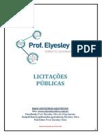 Apostila de Licitações Públicas - Prof. Elyesley Silva